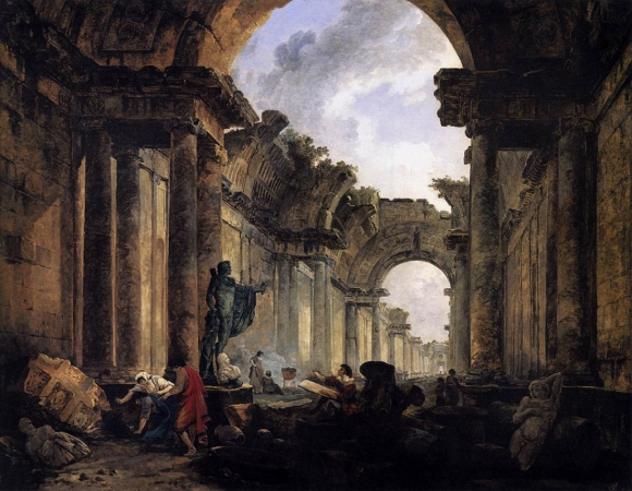 Inset01_Hubert Robert, Imaginary View of the Grand Gallery, 1796